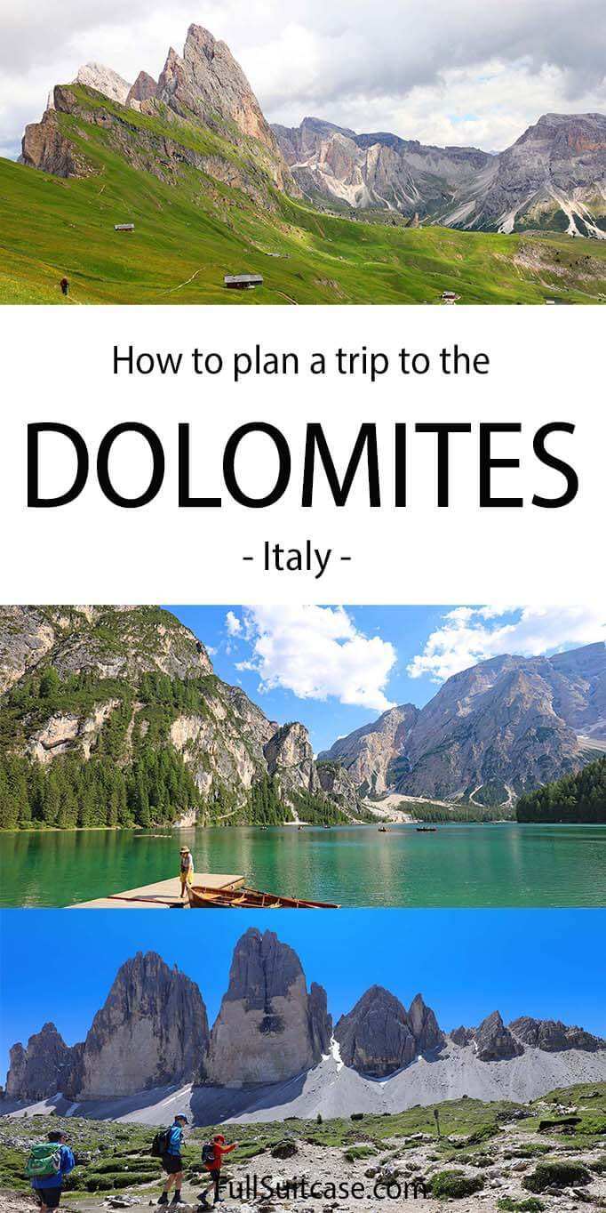 How to plan a trip to the Dolomites Italy