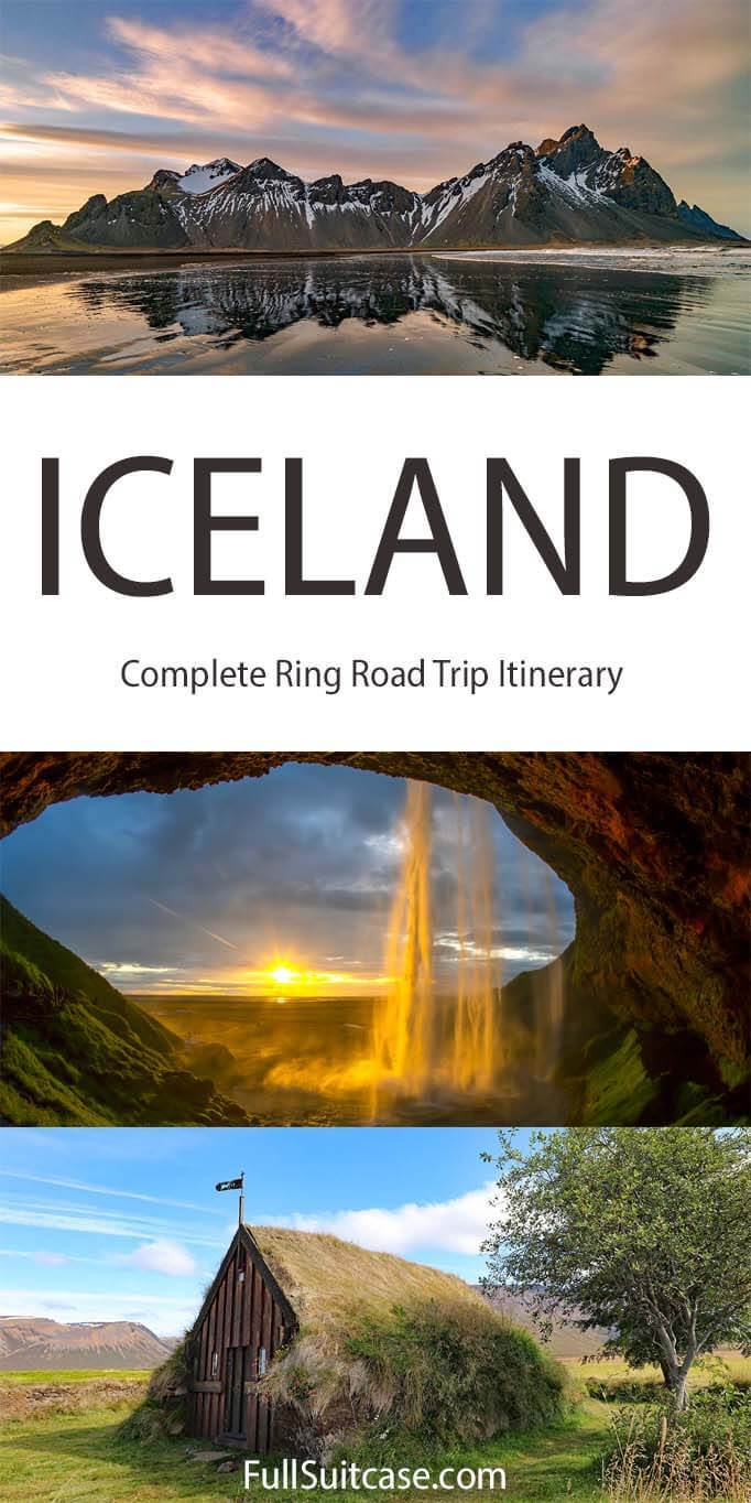 Iceland road trip - best Ring Road itinerary