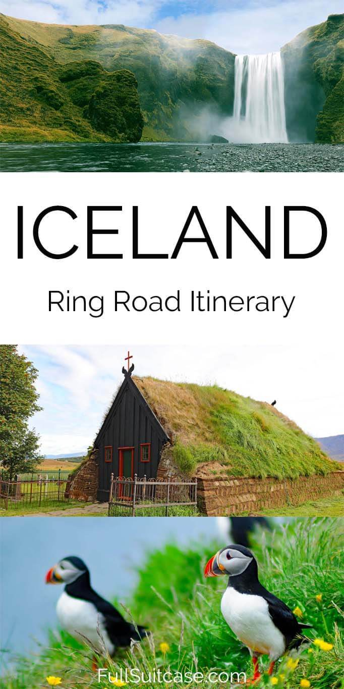 Itinerary for a self-drive Iceland Ring Road trip