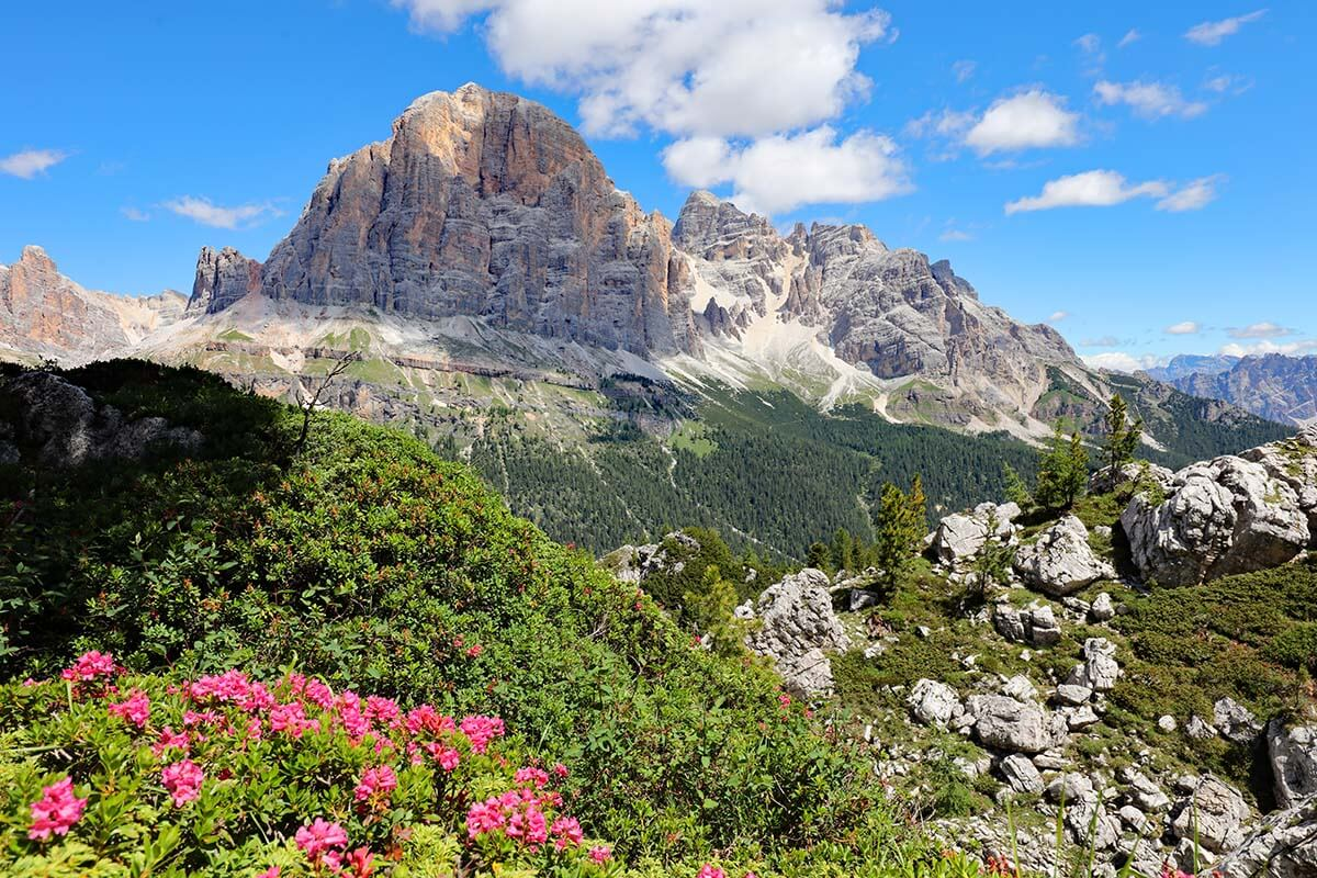 Itinerary for visiting Dolomites in the summer