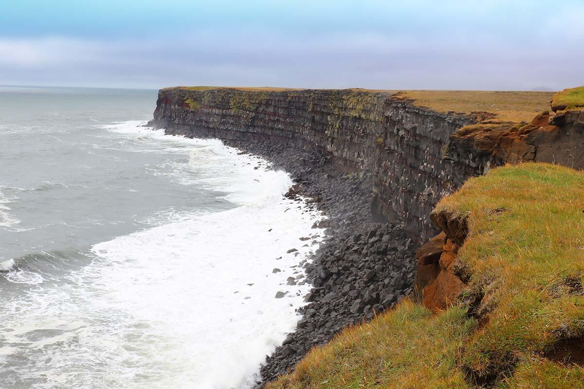 Krysuvikurberg Cliffs in Iceland