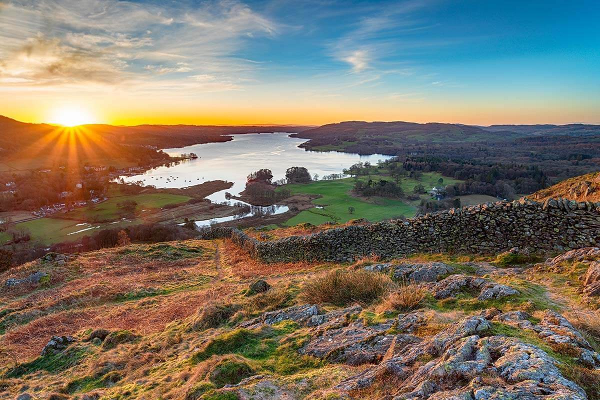 Lake District can be visited as a day trip from Blackpool