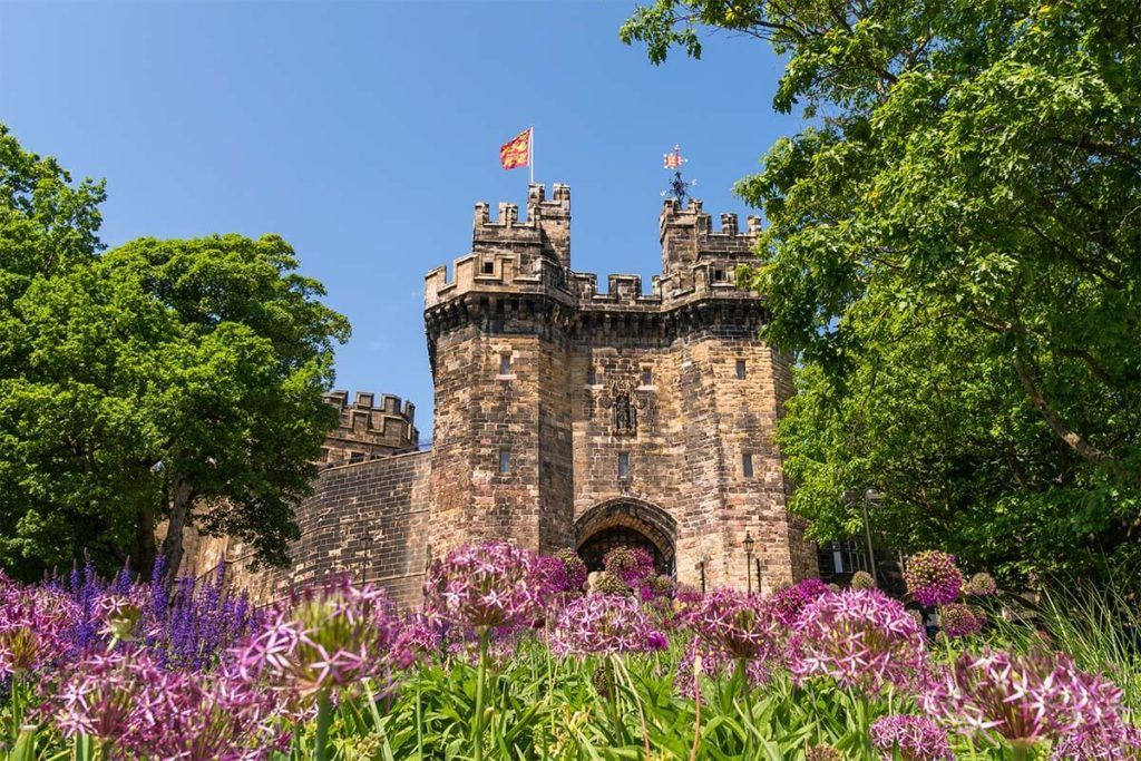 Lancaster Castle in England