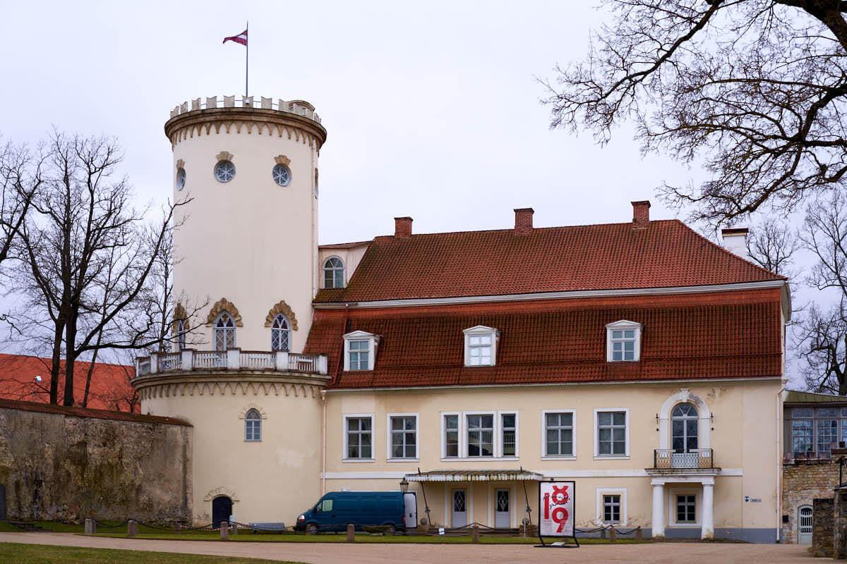 Cesis New Castle in Latvia