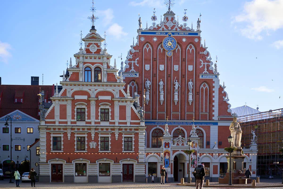 House of the Blackheads in Riga Latvia