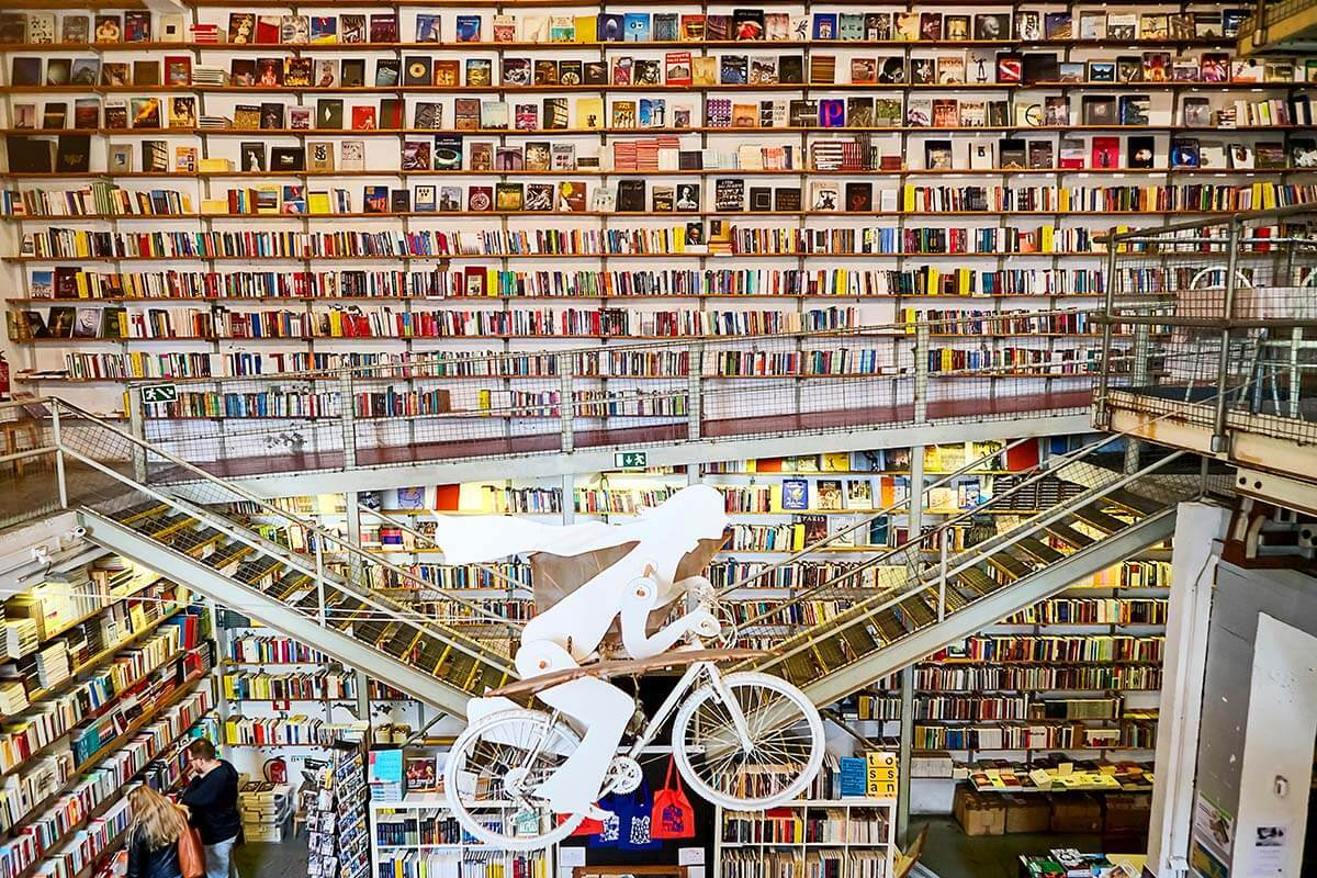 Ler Devagar book store in LX Factory Lisbon
