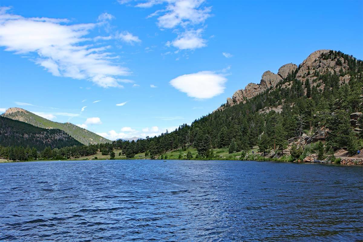 Lily Lake near Estes Park Colorado