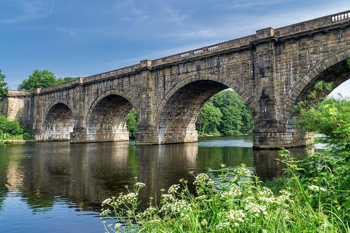Lune Aqueduct in Lancaster UK