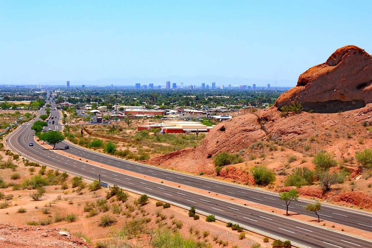 McDowell Road in Phoenix Metro Arizona