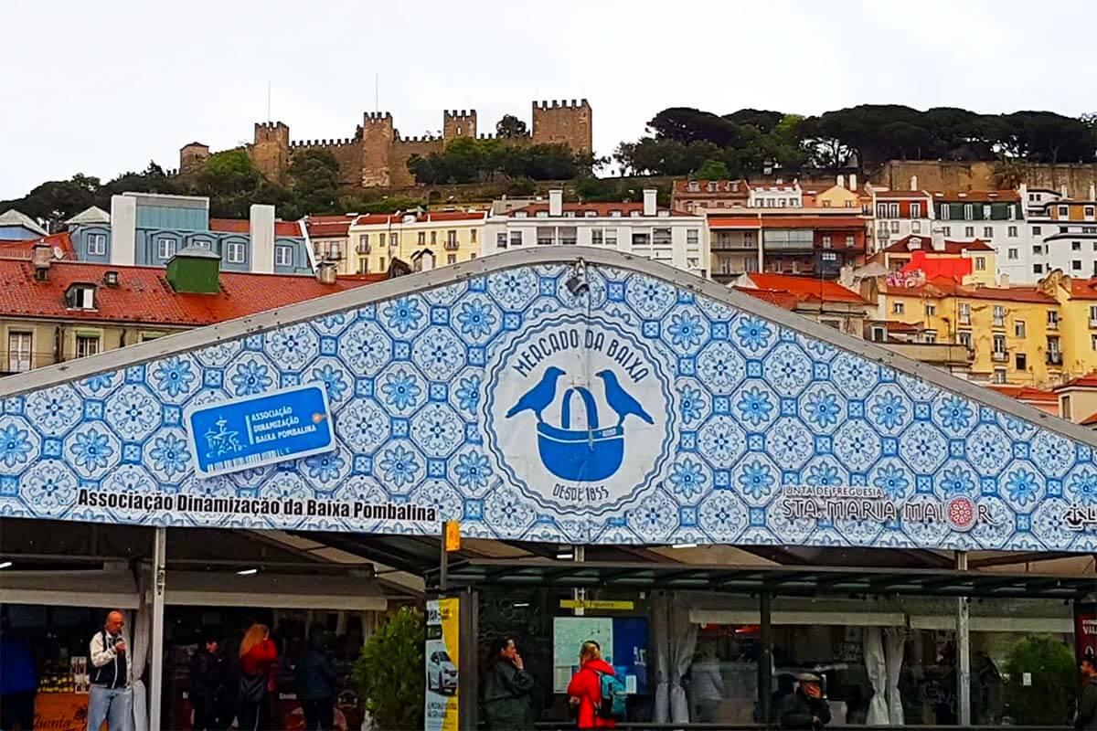 Mercado da Baixa in Lisbon