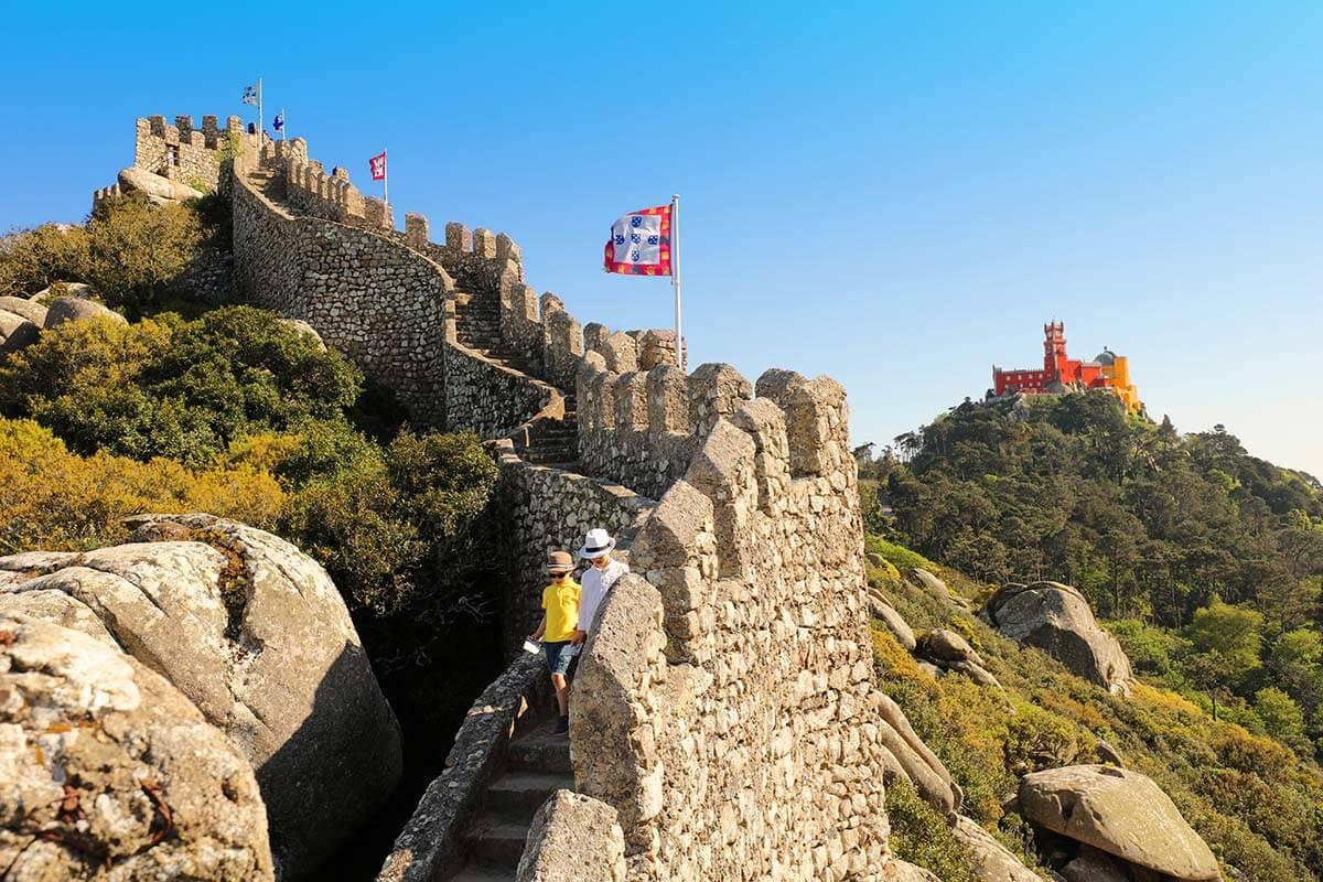 Moorish Castle in Sintra