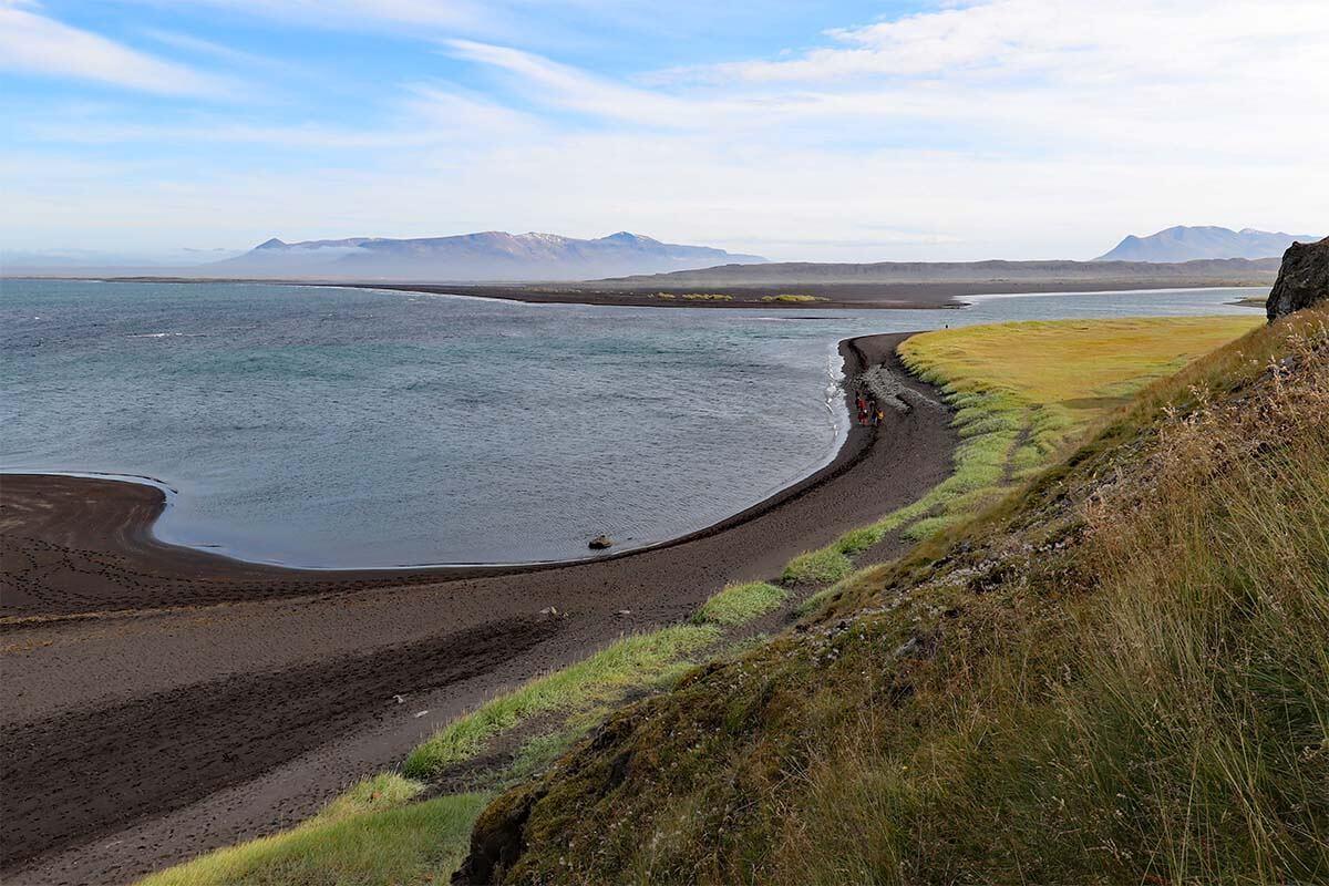 North Iceland coast at Vatnsnes Peninsula near Hvitserkur