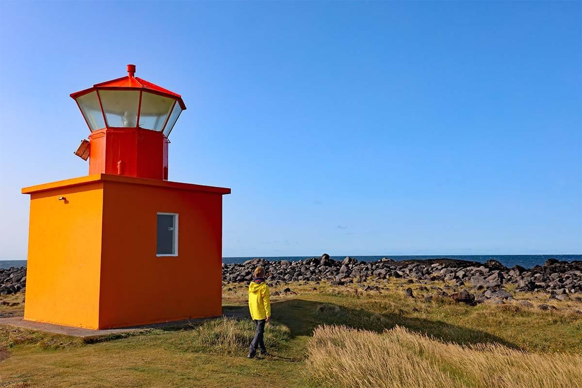 Öndverðarnes lighthouse