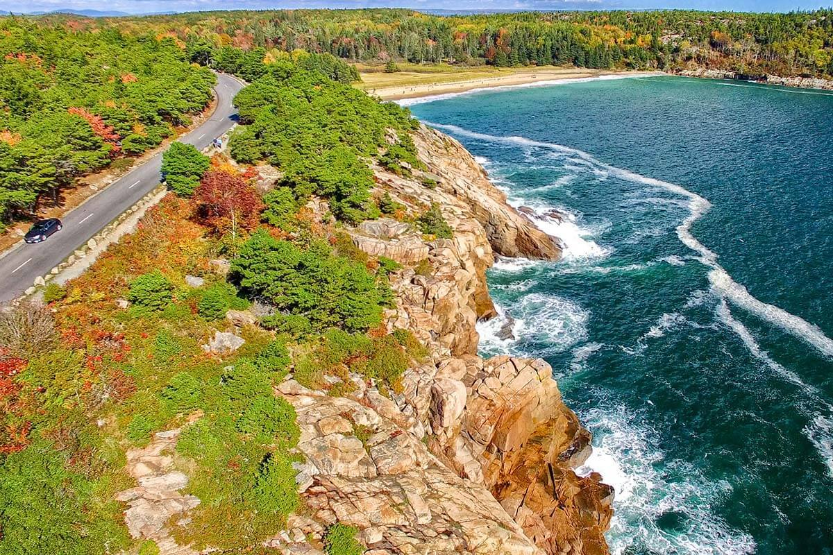 Park Loop Road is a must in any Acadia National Park itinerary
