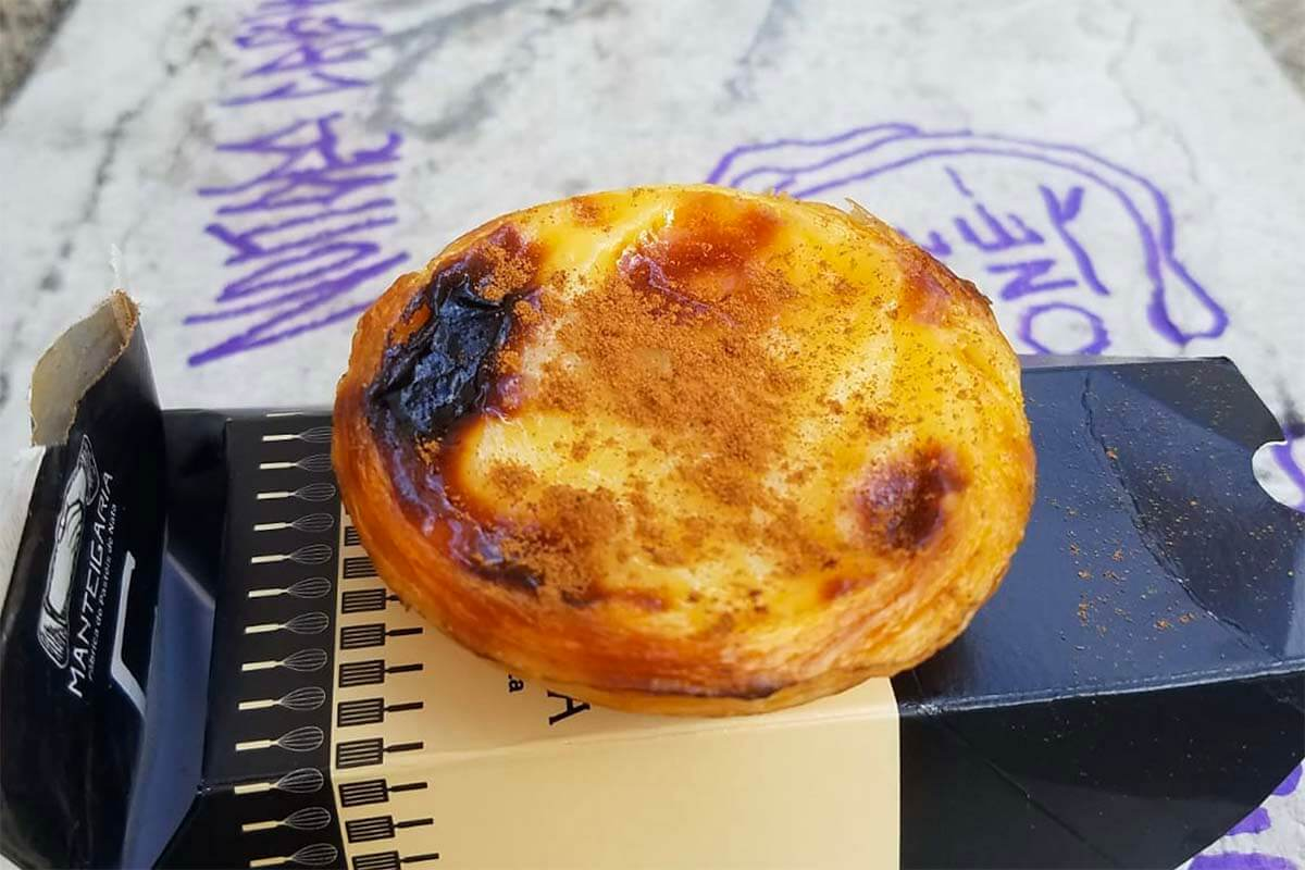 Pasteis de Nata from Manteigaria bakery in Lisbon