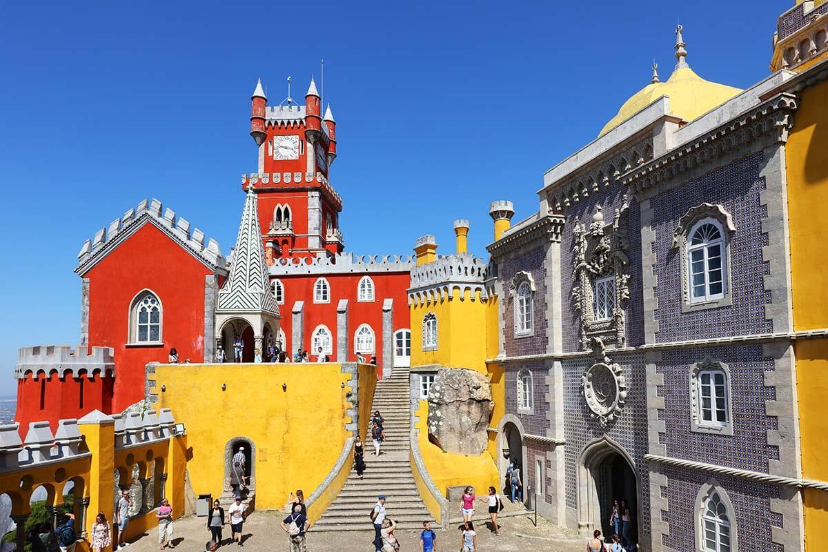 Pena Palace in Sintra is must see near Lisbon
