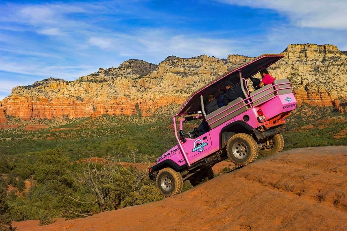 Pink Jeep Tours in Sedona Arizona