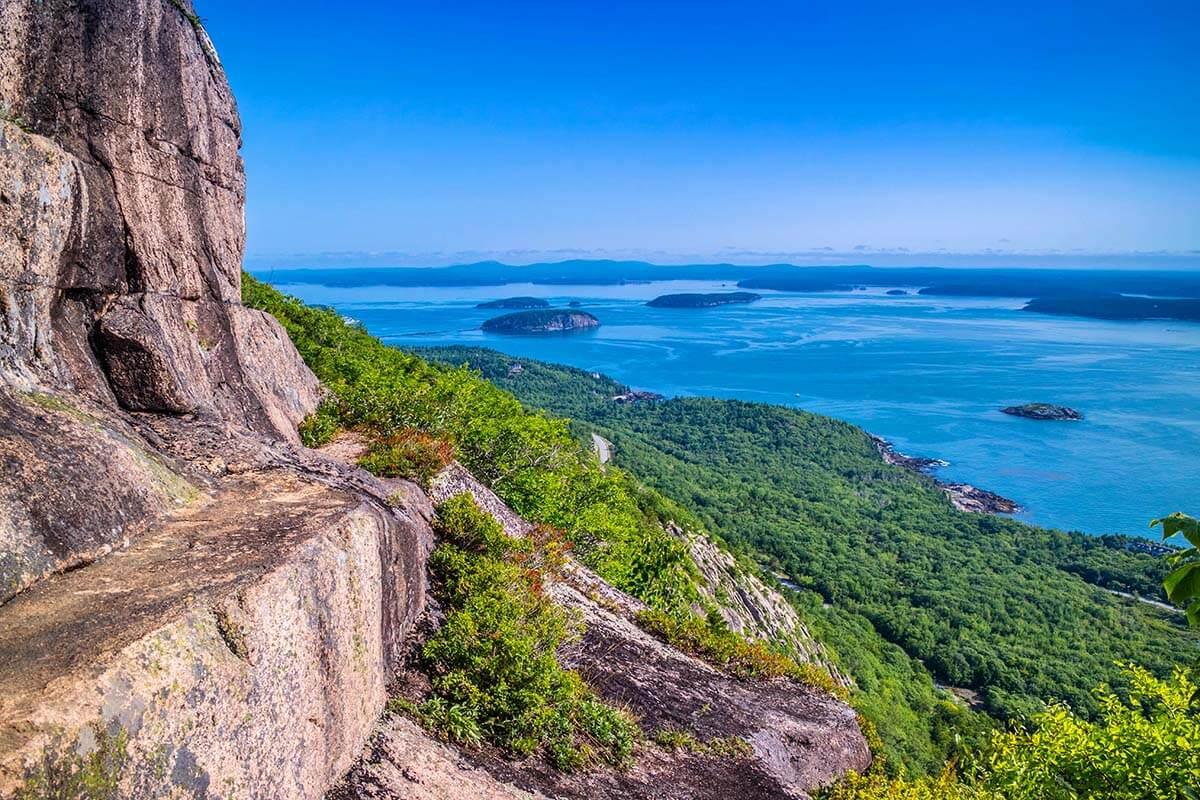 Precipice Trail in Acadia National Park