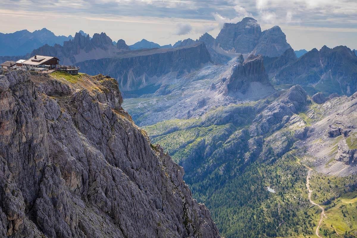 Rifugio Lagazuoi Dolomites Italy