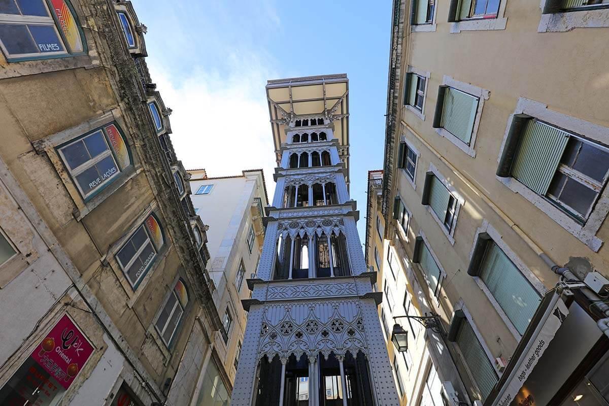 Santa Justa Lift - one of the most popular Lisbon attractions