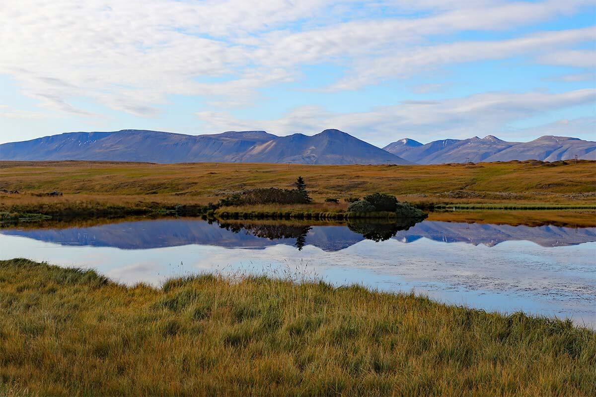 Scenery along Iceland's Ring Road