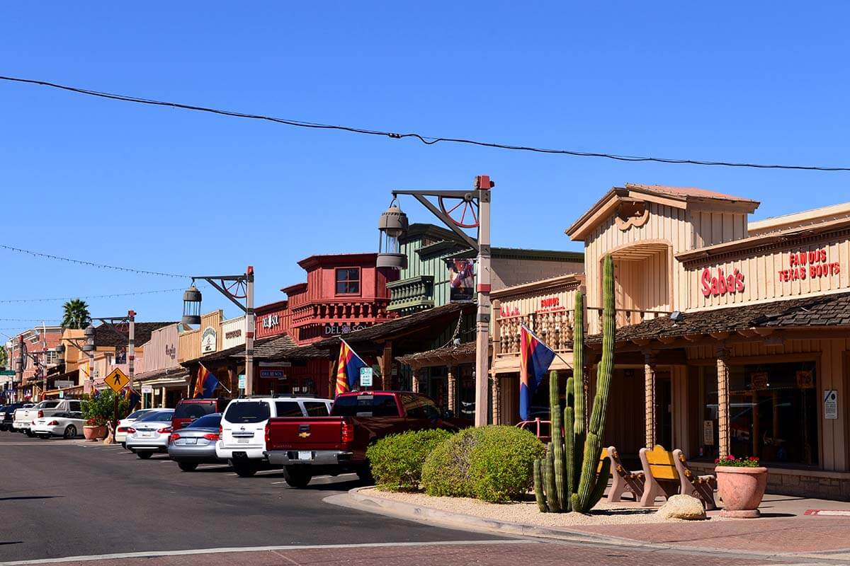 Scottsdale Old Town is not to be missed in any Phoenix itinerary