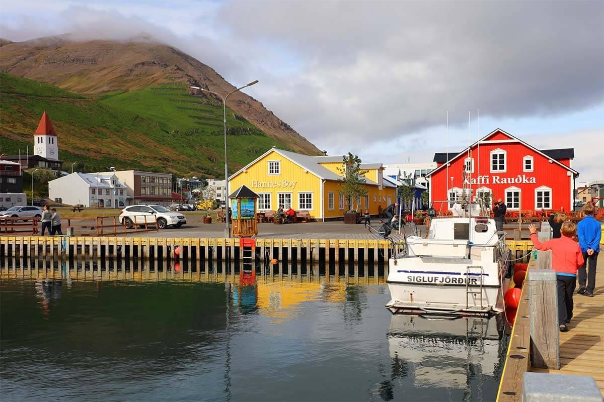 Siglufjörður town in Iceland