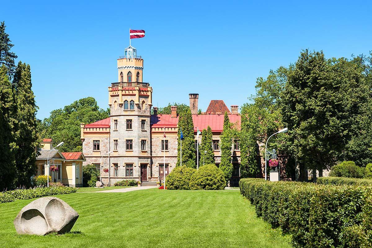 Sigulda New Castle Latvia