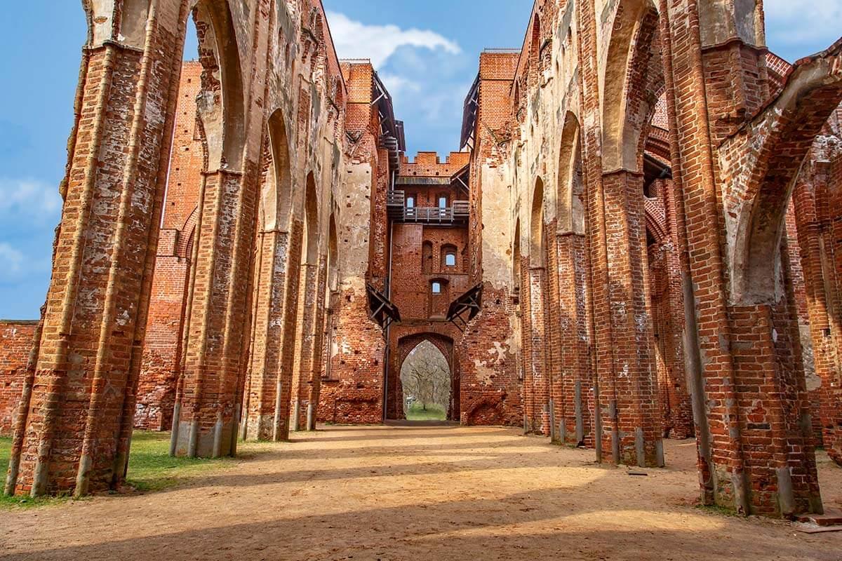 Tartu Cathedral in Estonia