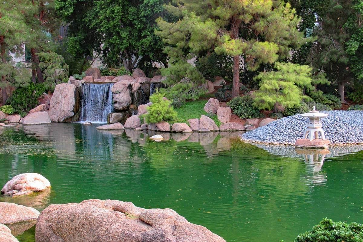 The Japanese Friendship Garden of Phoenix AZ