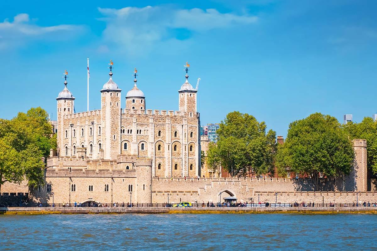 The Tower of London is a must in any London itinerary