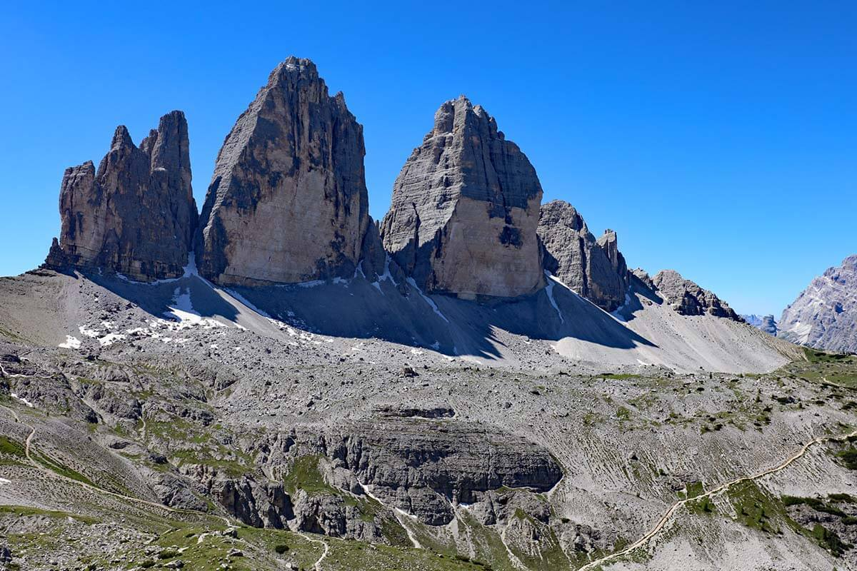 Tre Cime is a must in any Dolomites itinerary