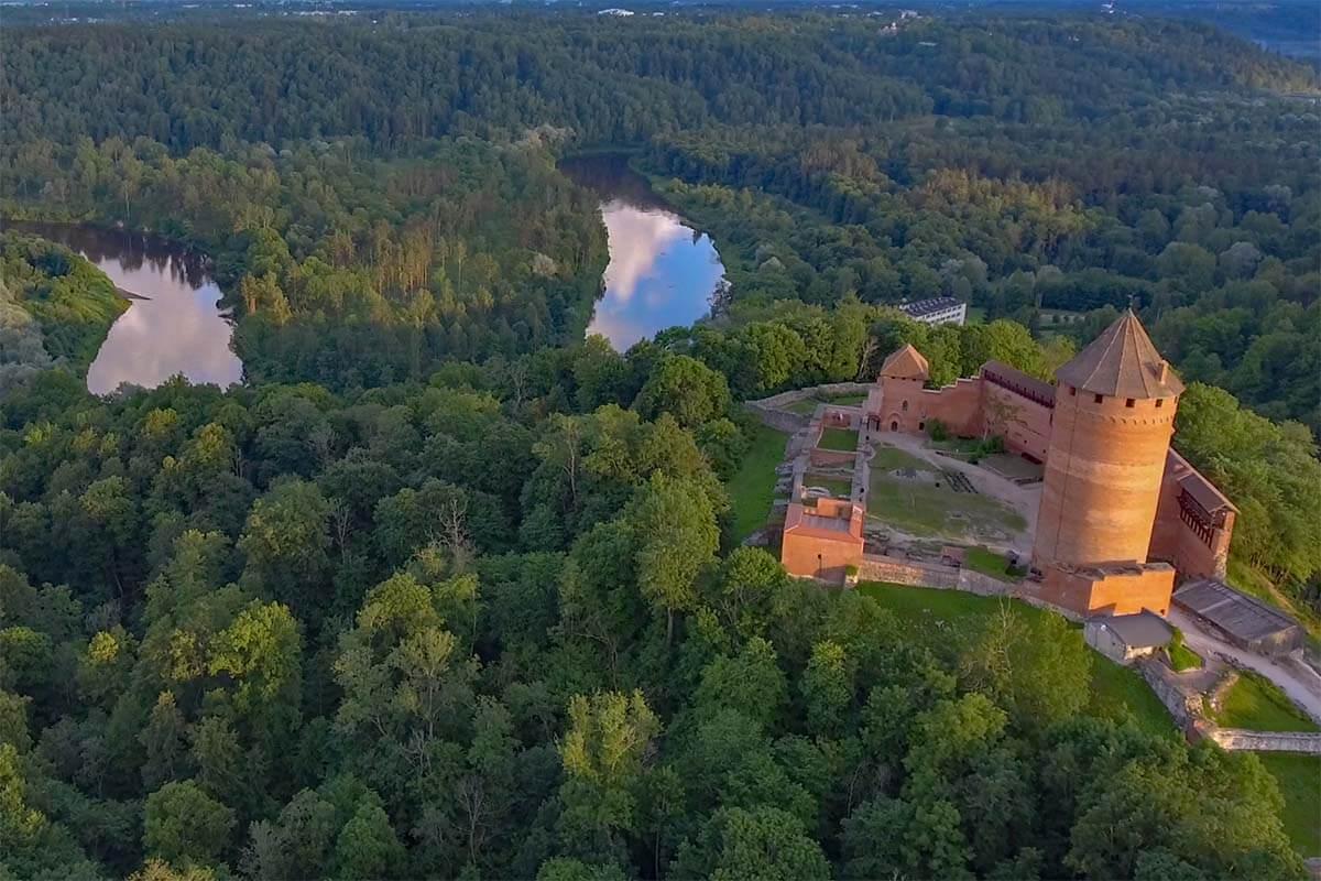 Turaida Castle in Sigulda Latvia