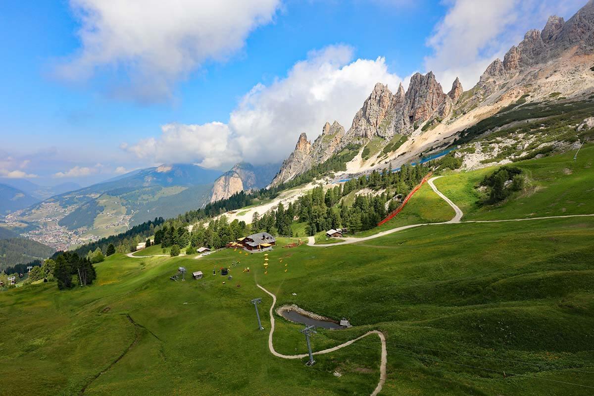 Scenery near Selva di Val Gardena