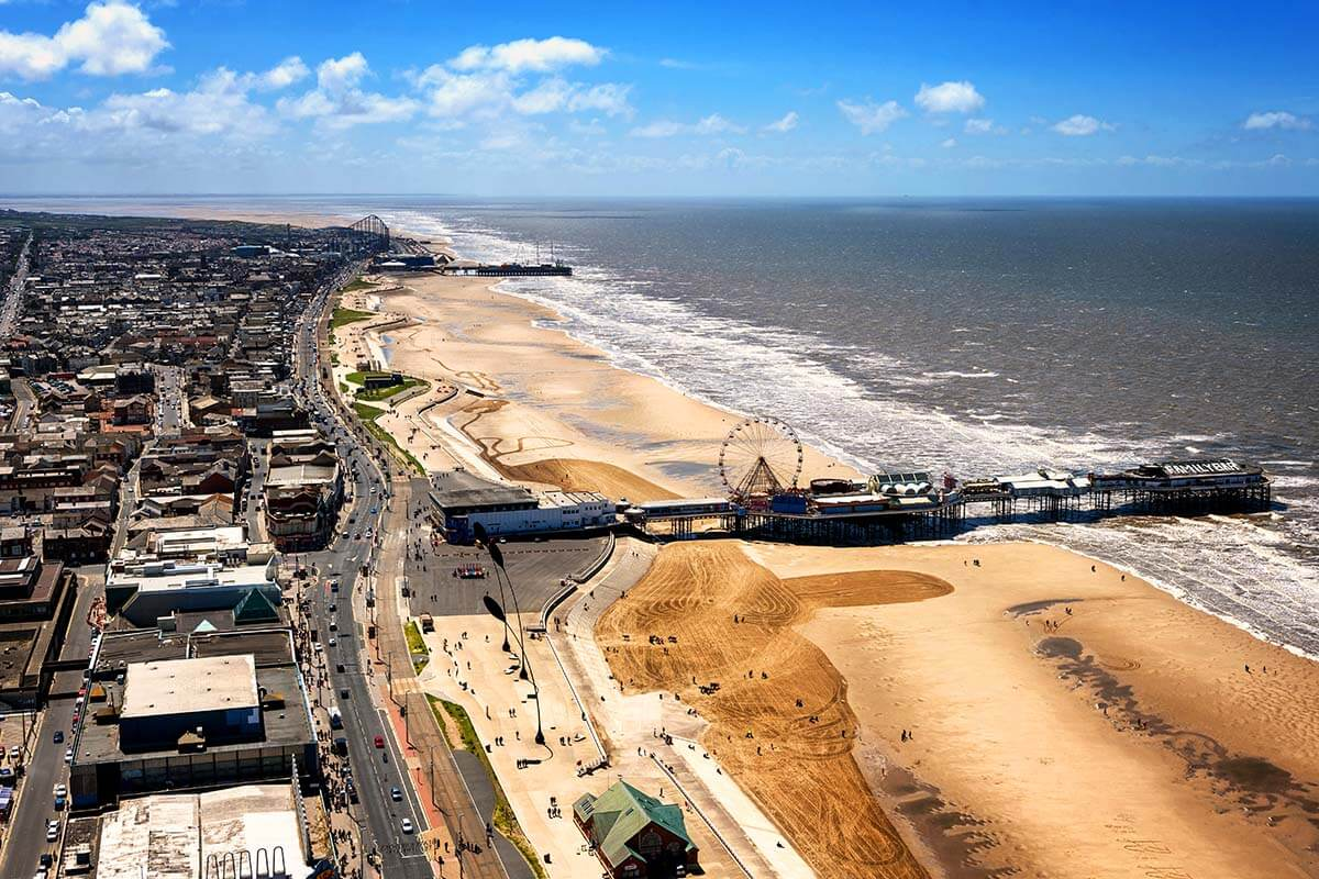 View from Blackpool Tower Eye
