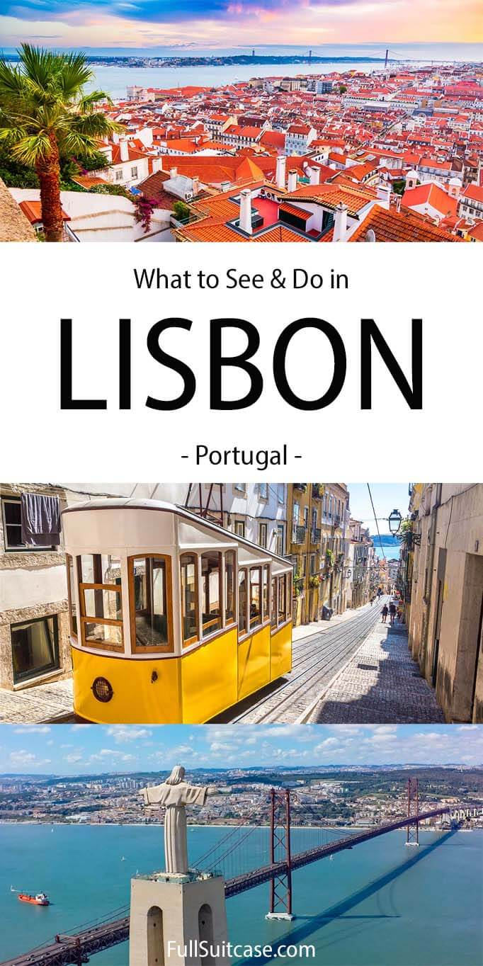 What to see and do in Lisbon Portugal