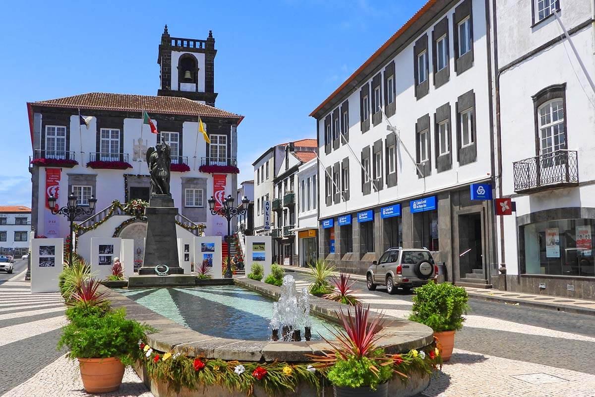 Bell Tower and Town Hall of Ponta Delgada (Camara Municipal)