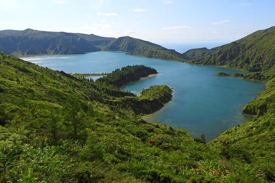 Best thing to do in Sao Miguel island in the Azores - Lagoa do Fogo