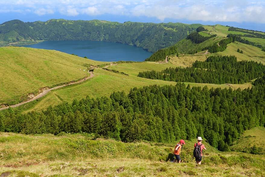 Best things to do in Sao Miguel - hiking at Sete Cidades