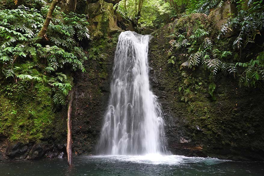 Best things to do in Sao Miguel the Azores - Salto do Prego waterfall