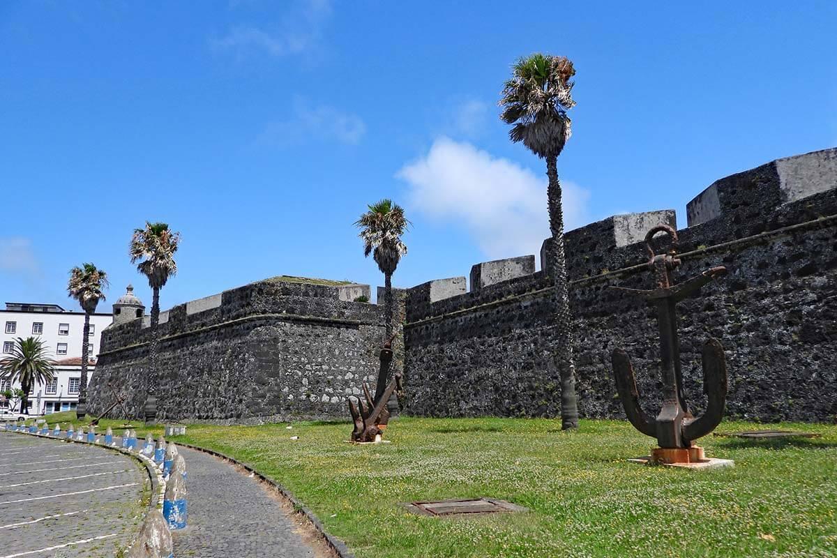 Forte de Sao Bras in Ponta Delgada