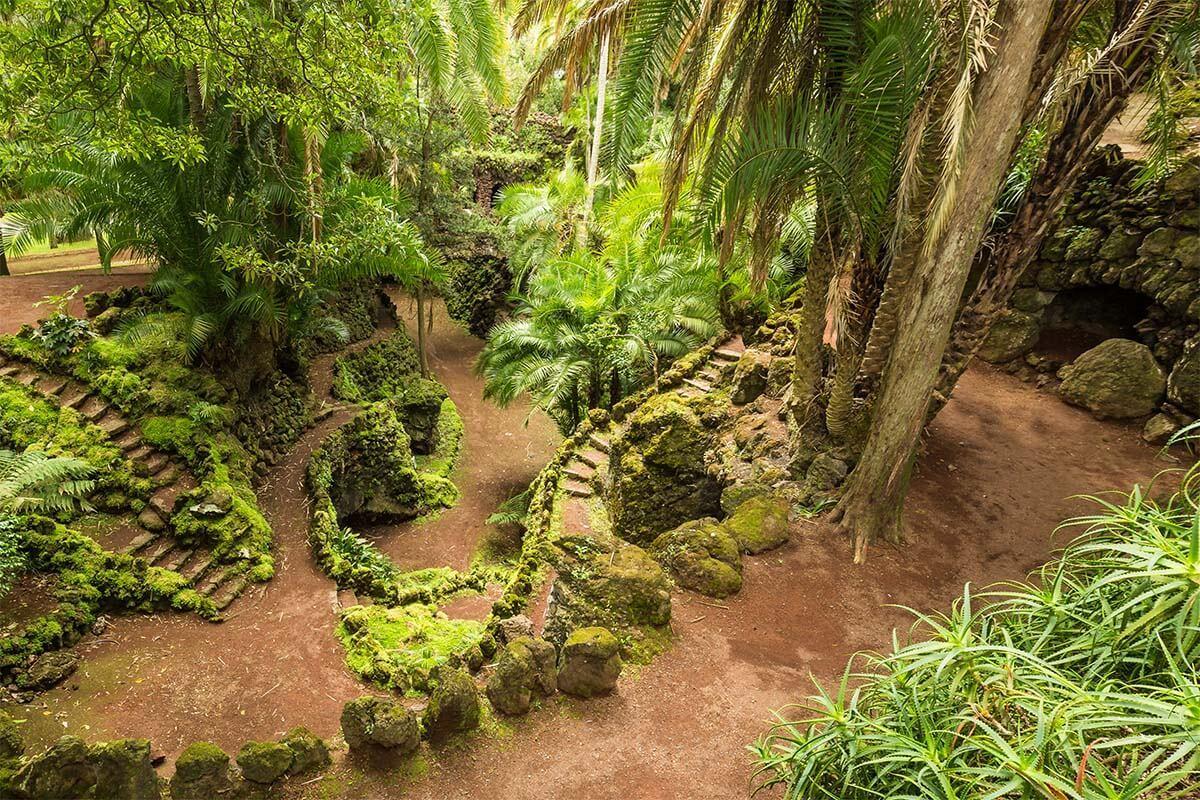 Antonio Borges Garden in Ponta Delgada