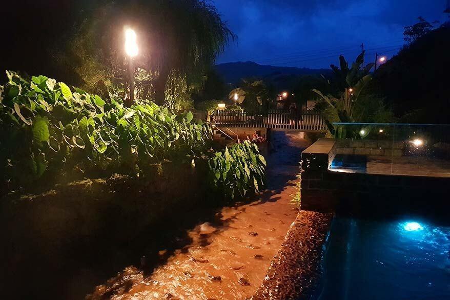 Poca da Dona Beija geothermal pool in Furnas Azores