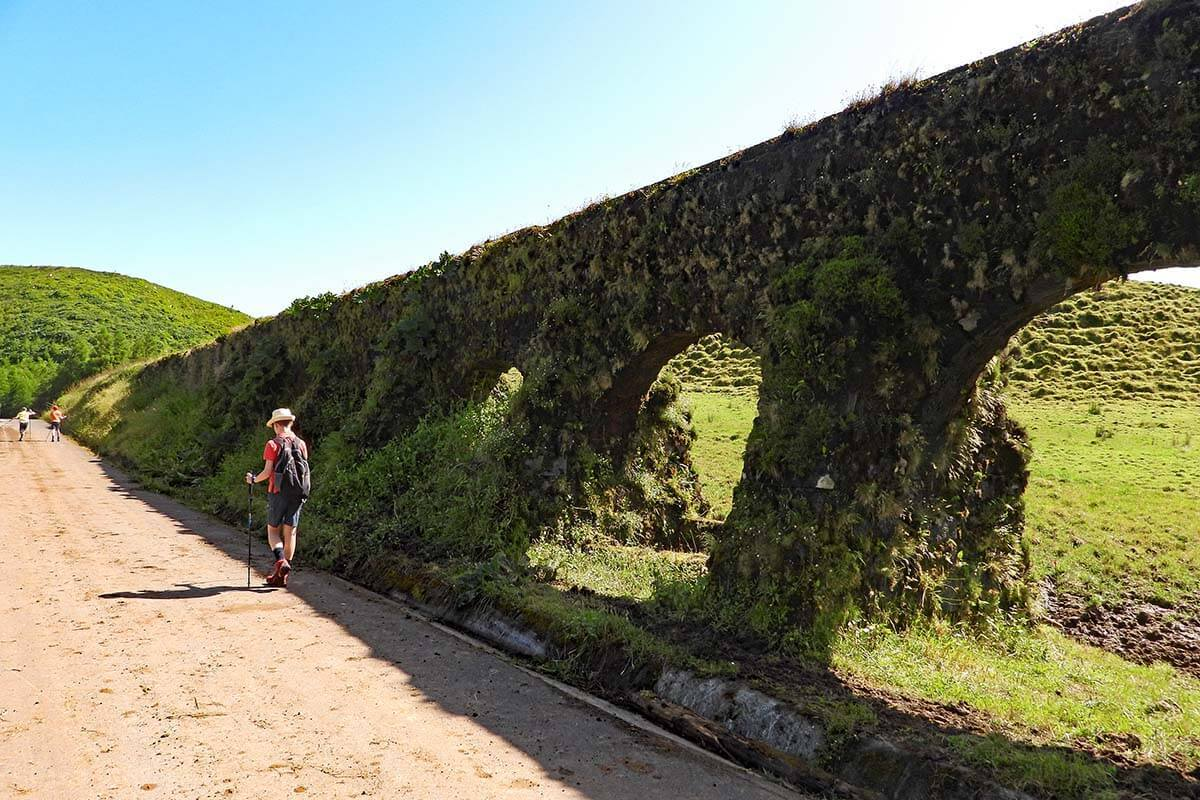 Aqueduto do Carvao is one of the best places to see in Sete Cidades, Azores