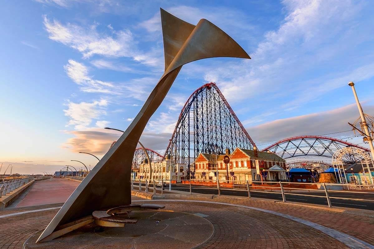 Blackpool Promenade and Pleasure Beach