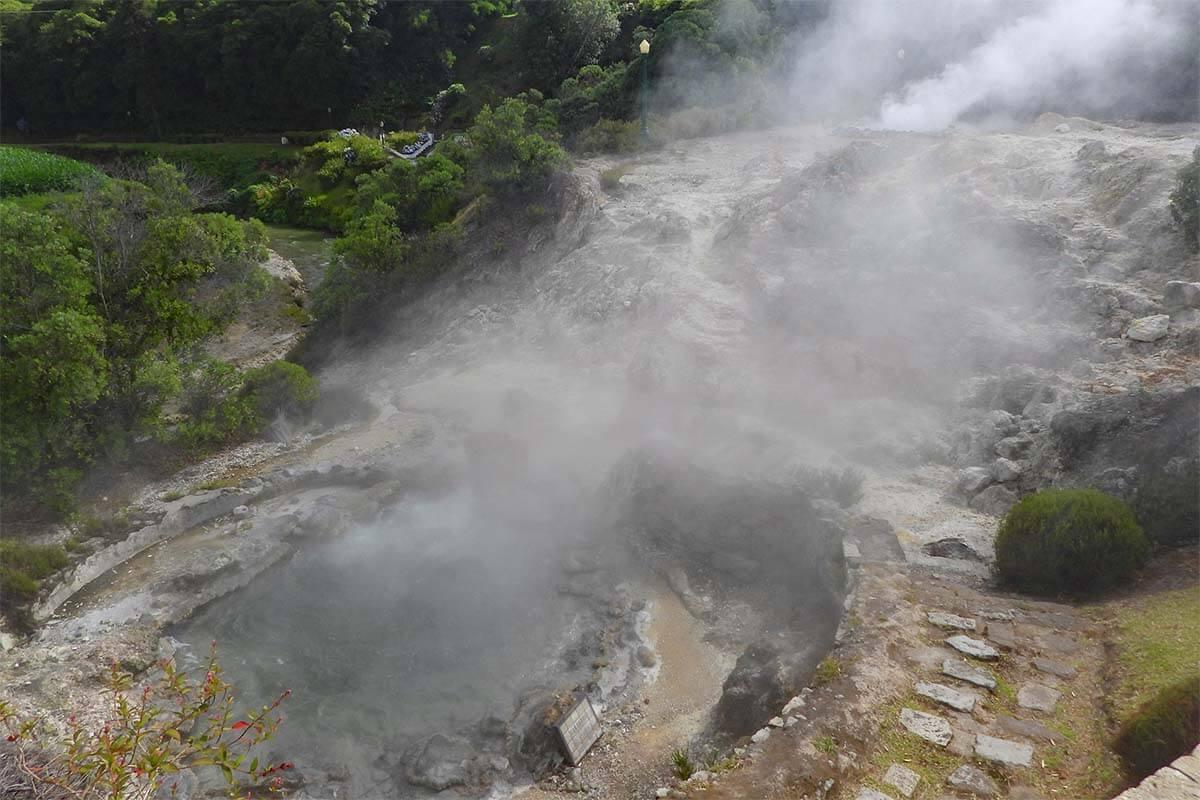 Caldeiras Vulcanicas in Furnas