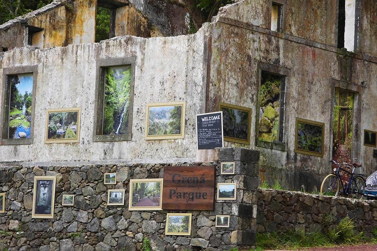 Grena Park in Furnas Azores