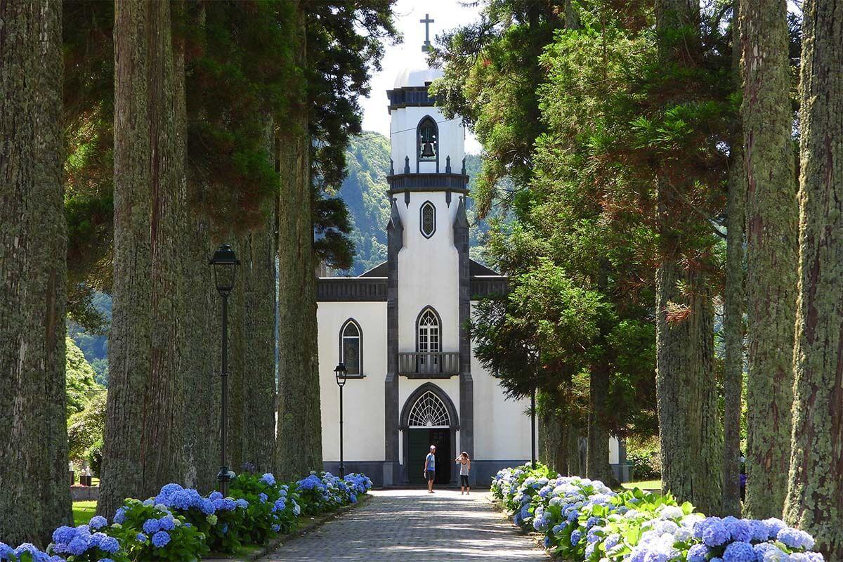 Igreja de Sao Nicolau in Sete Cidades