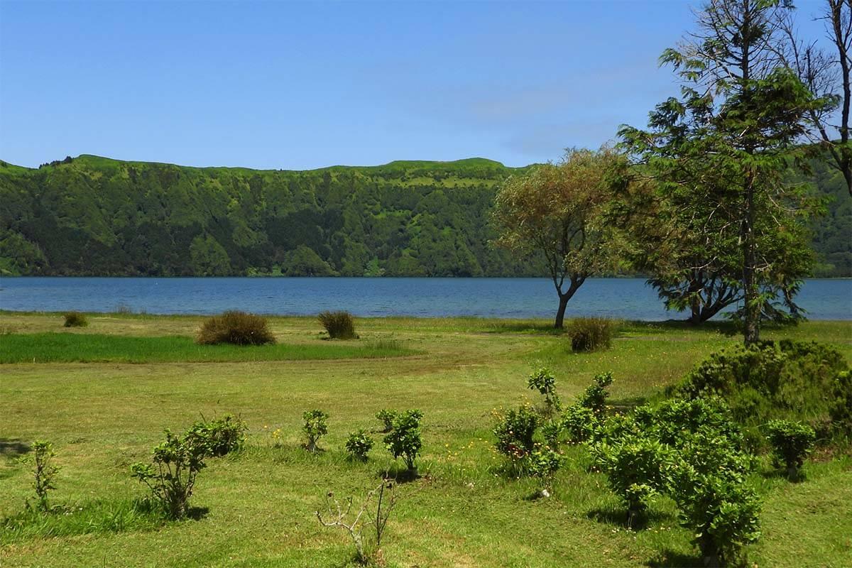 Lagoa Azul in Sete Cidades