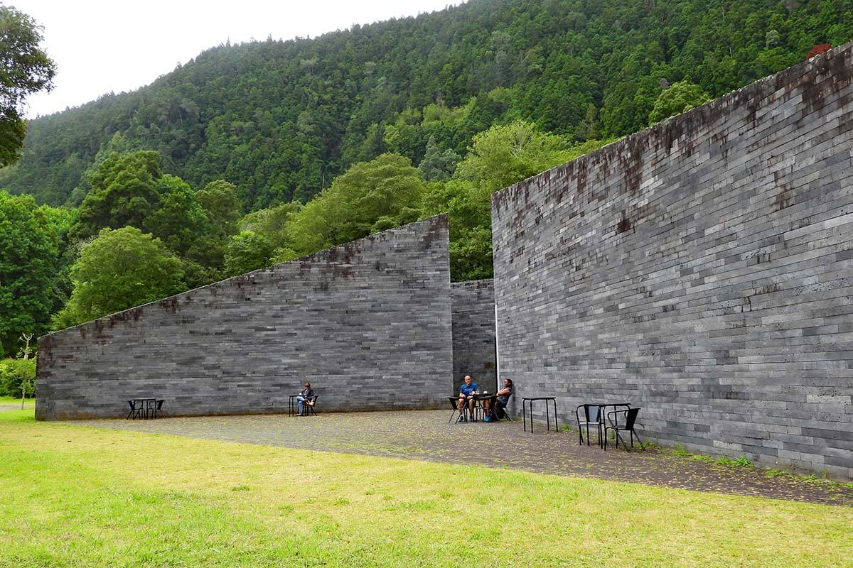 Monitoring and Research Center of Furnas in the Azores